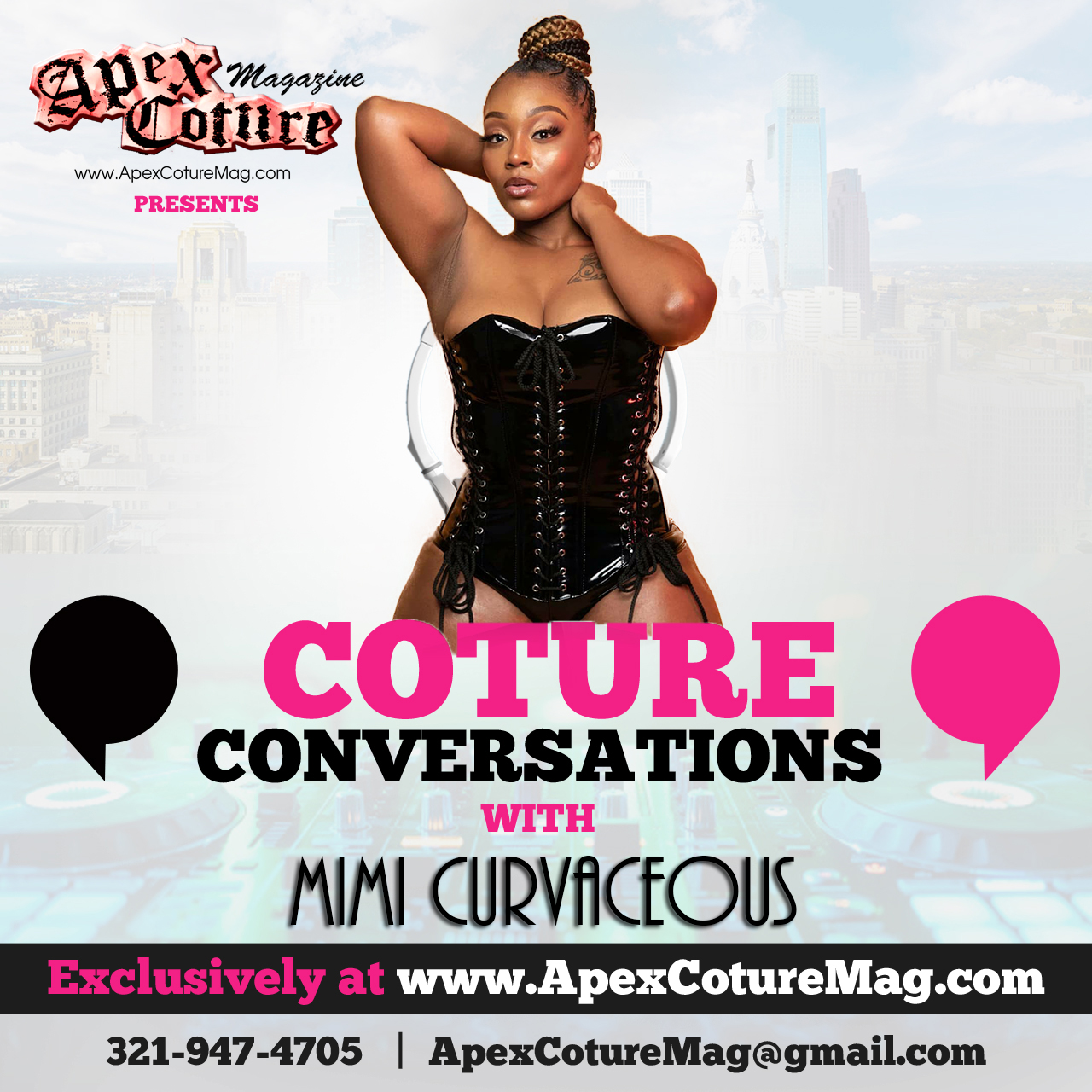 Mimi Curvaceous Coture Conversation