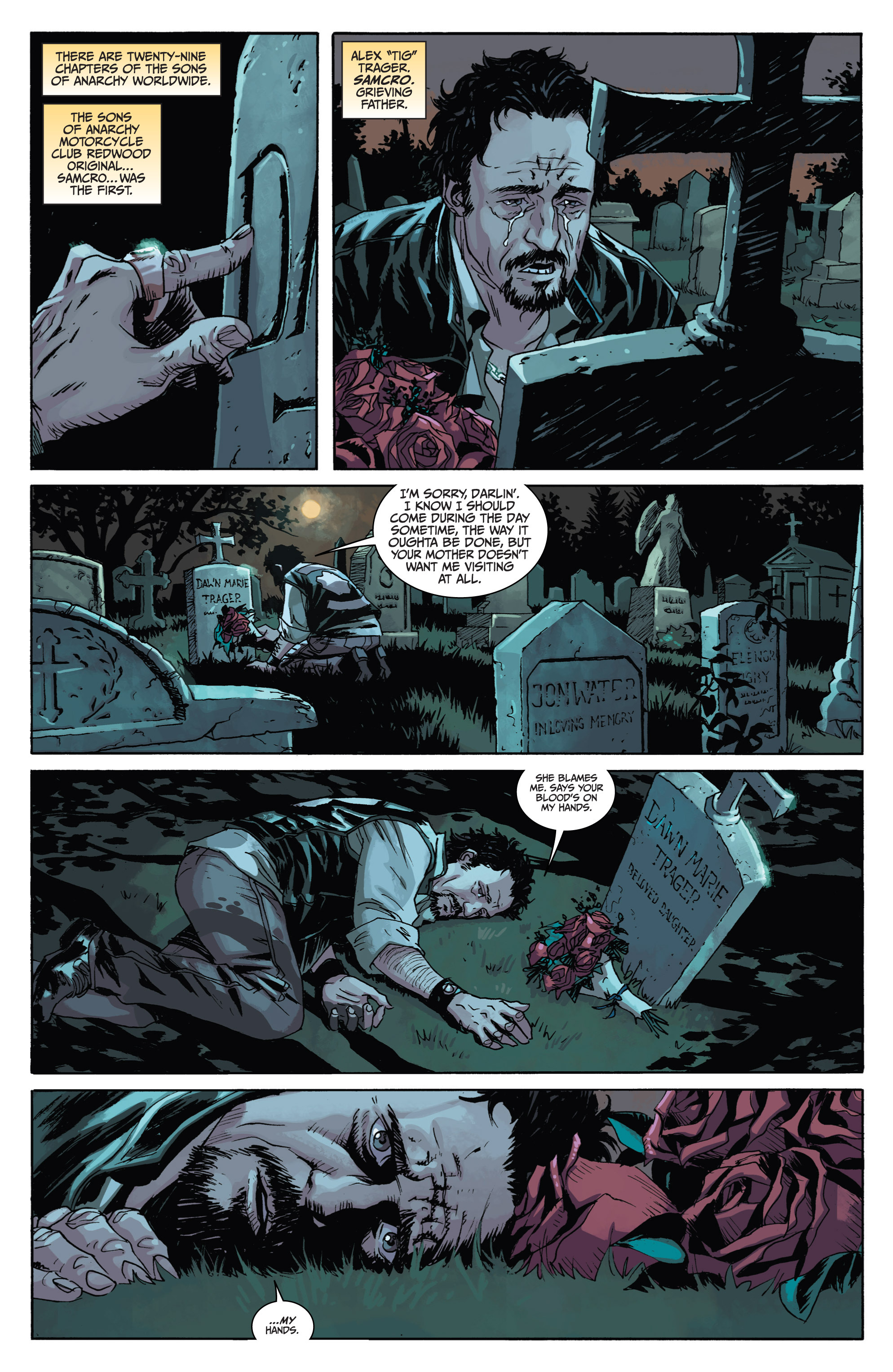 Read online Sons of Anarchy comic -  Issue #1 - 6