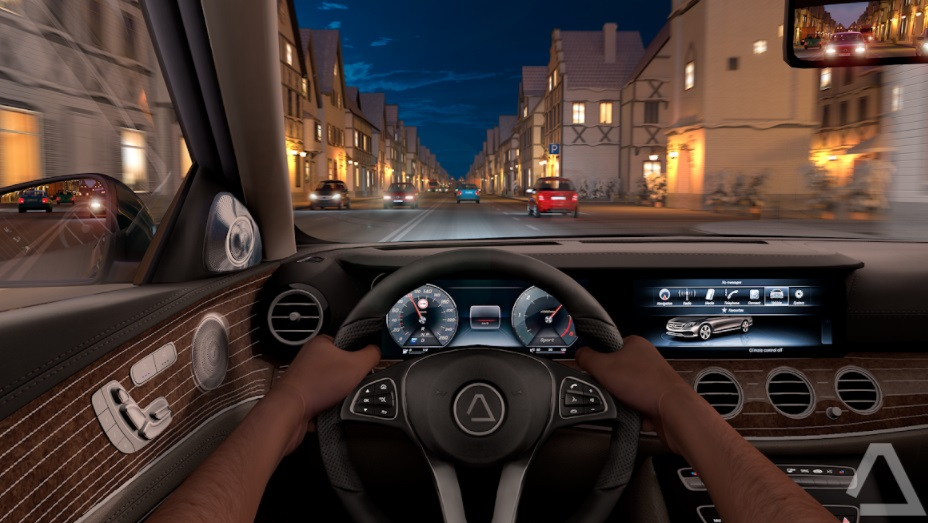 Driving Zone Germany APK night