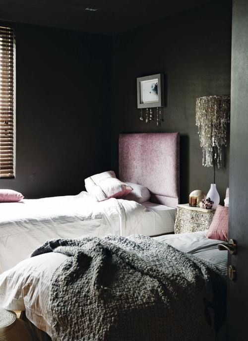 A Perfect Gray Moody Gray Bedrooms