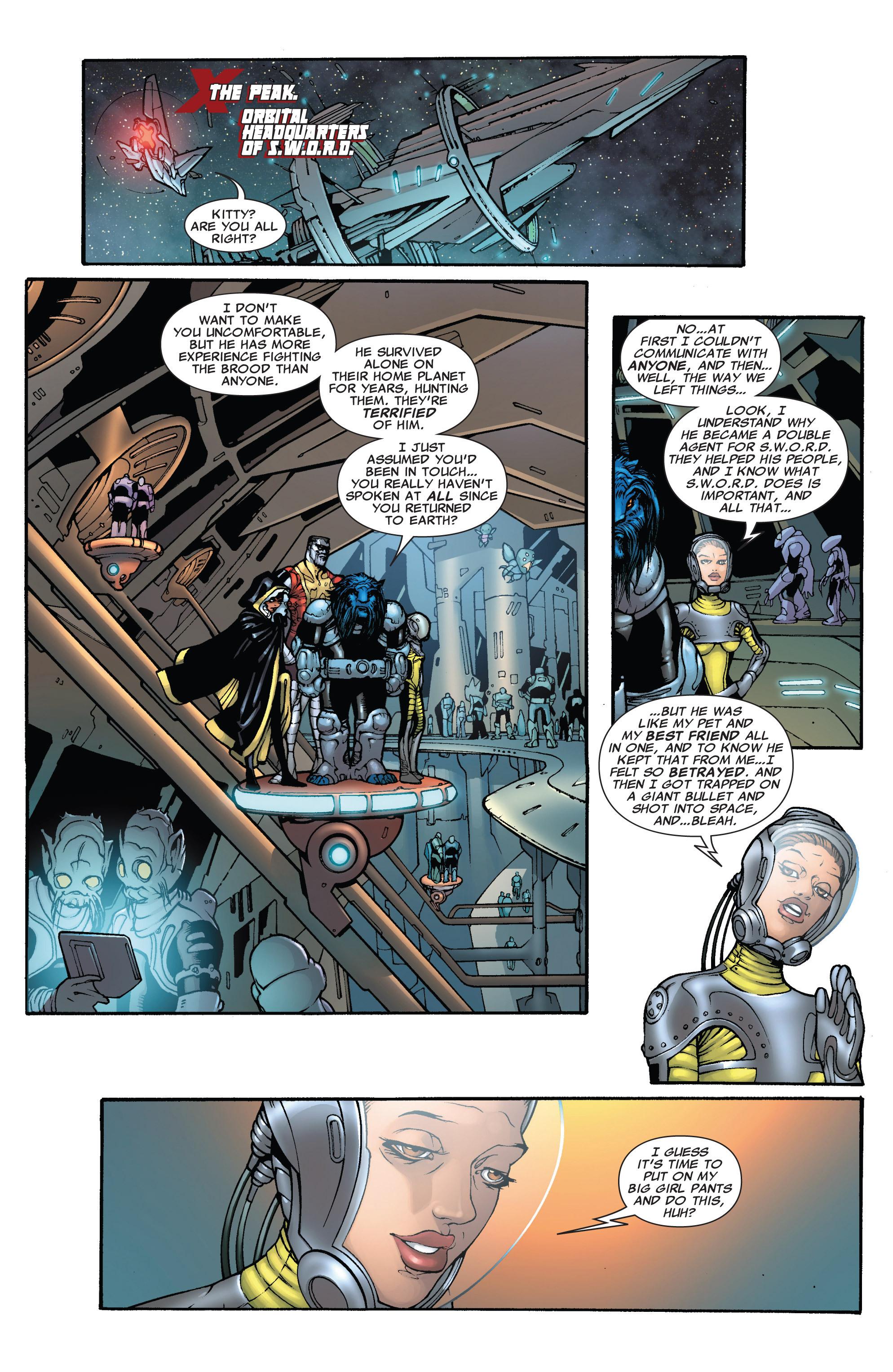 Read online Astonishing X-Men (2004) comic -  Issue #38 - 9