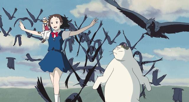 Película Haru en el reino de los gatos de Studio Ghibli, dirigida por Hiroyuki Morita en el año 2002