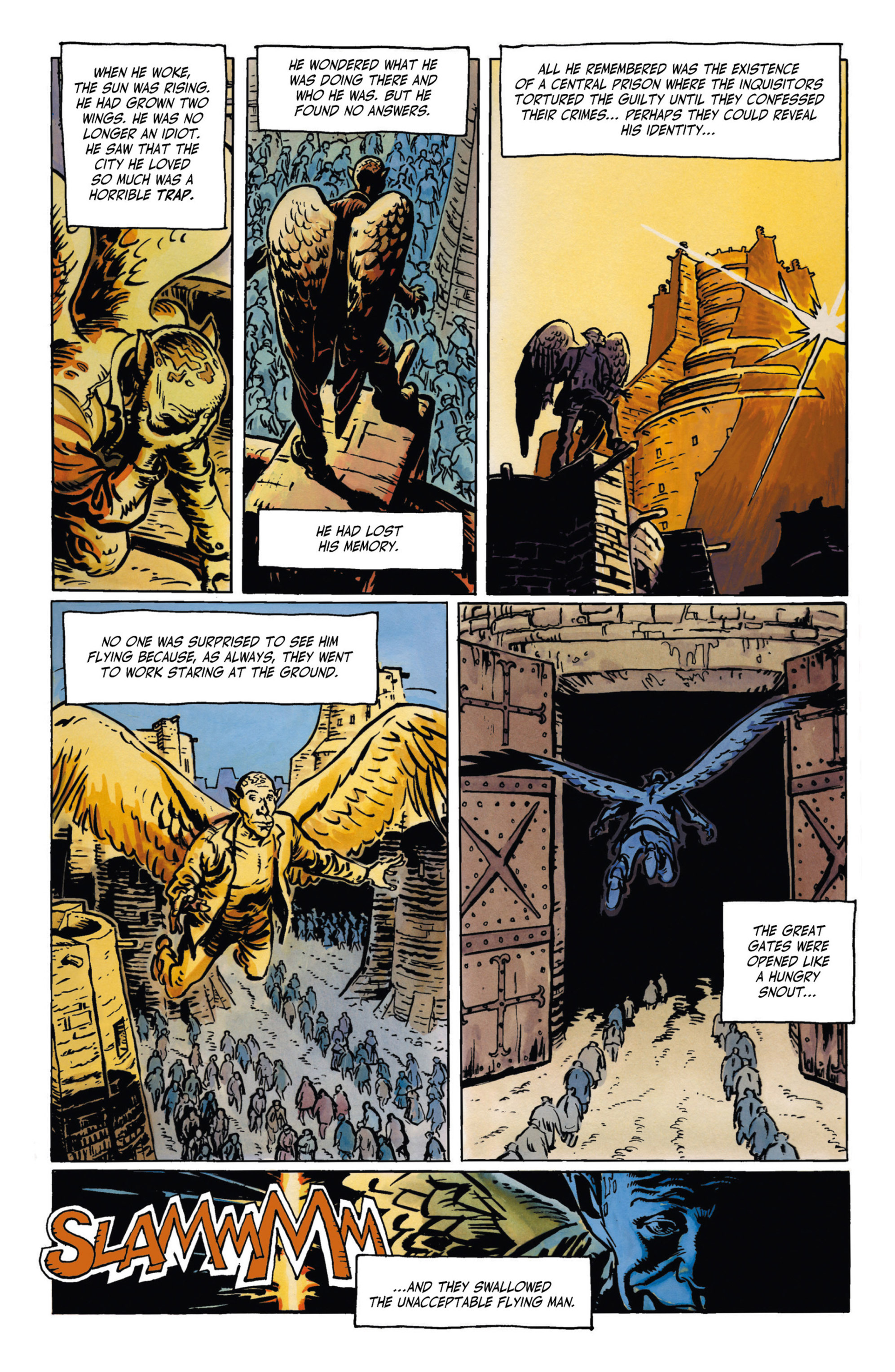 Read online Alejandro Jodorowsky's Screaming Planet comic -  Issue #1 - 27