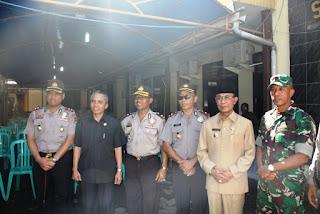 Walikota Pimpin Apel Kebhinekaan Cinta Damai di Polres Mataram