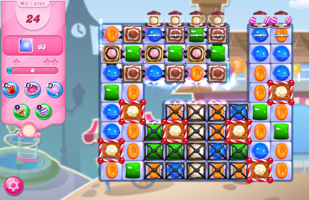 Candy Crush Saga level 5791