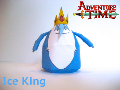 Adventure Time Ice King Papercraft