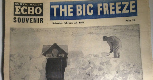 The Snow I Really Want - Big Freeze 1963 - South Wales Echo