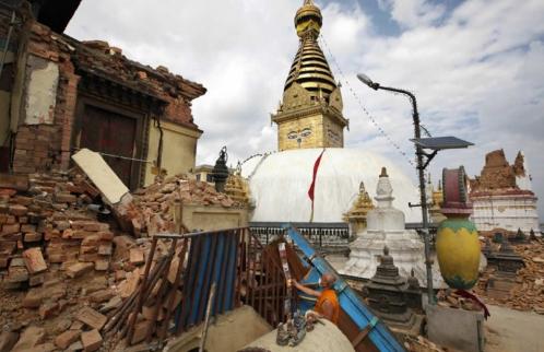 Boudhanath Stupa di Kathmandu