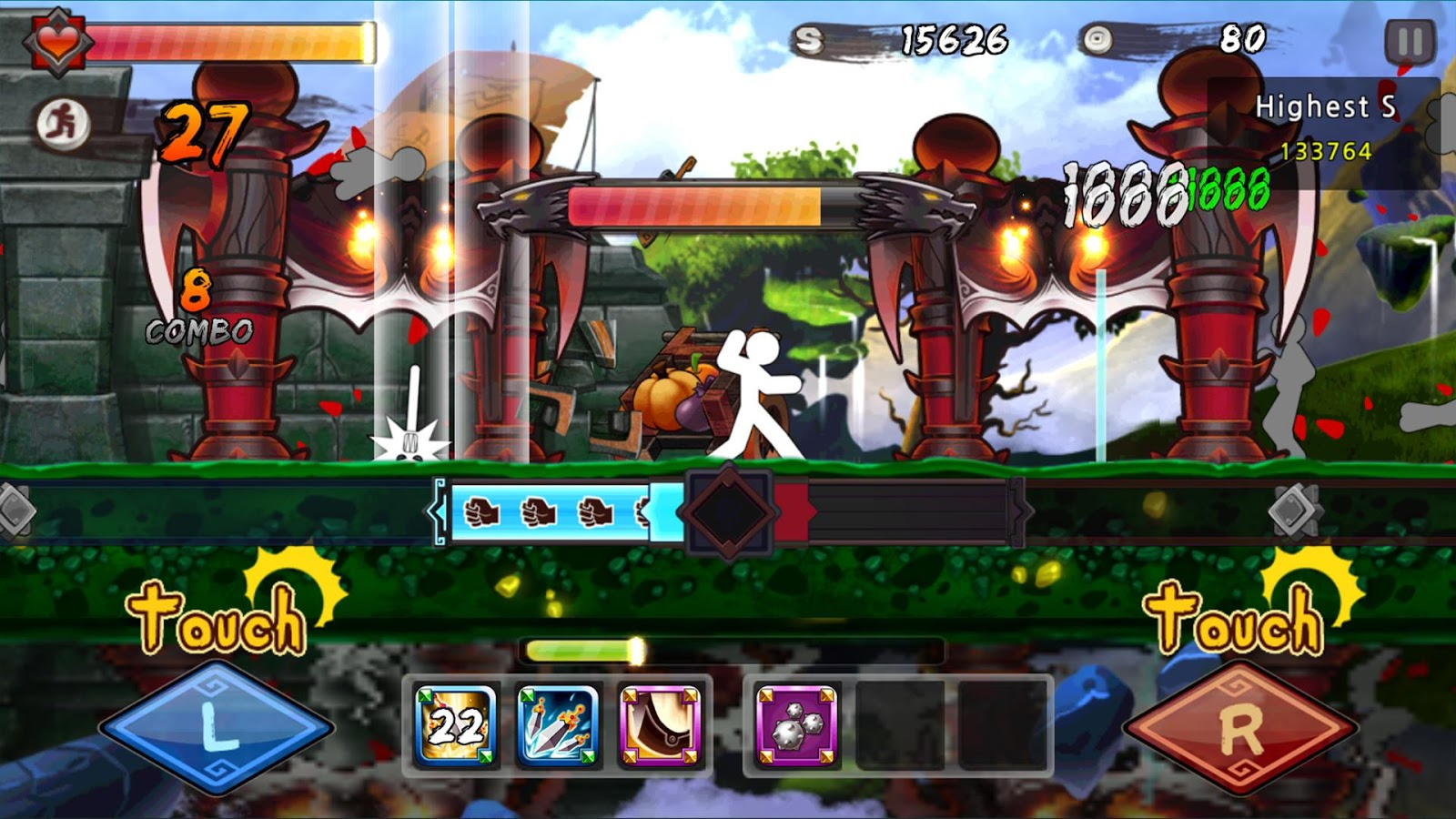 One Finger Death Punch MOD APK