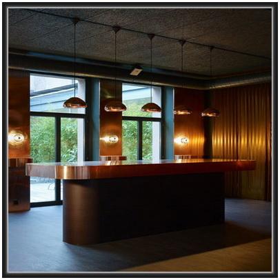 Linear Lampu  Gantung Tembaga Dan Kuningan Gudang Art Design