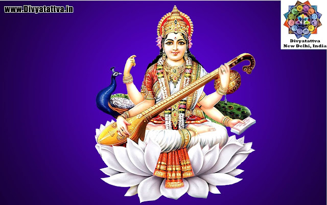 hindu goddess mata sarawati wallpaper, goddess of learning sarasvati photos