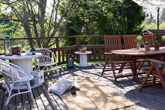 colorian puuöljy keväthuolto terassikalusteet