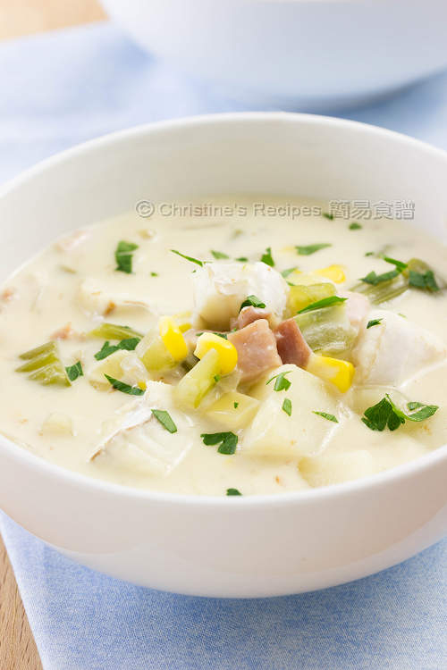 周打魚湯 Fish Chowder Soup-01