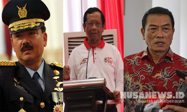 Panglima TNI Tebar Ancaman, Profesor Singgung Anak Iblis, Moeldoko Ajak Perang Total
