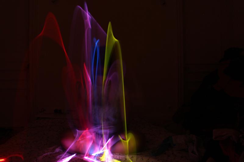 Nail art : vernis fluo et lumière UV