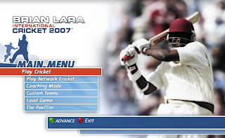 Brian Lara International Cricket 2007 PC Game