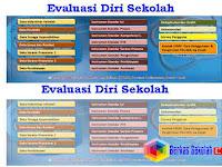 Aplikasi Evaluasi Diri Sekolah (EDS) SD SMP SMA SMK Sederajat Format Excel