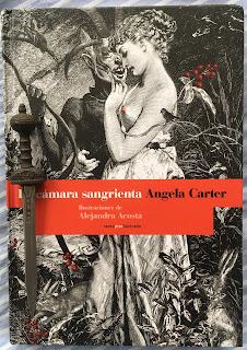 Portada del libro La cámara sangrienta, de Angela Carter
