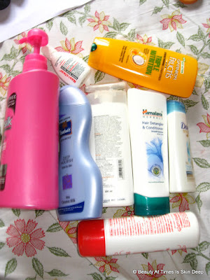 Beauty Empties June July 2015
