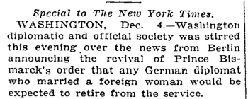 The New York Times, December 5, 1912
