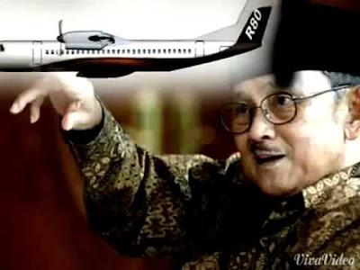 B.J. Habibie pencipta pesawat indonesia