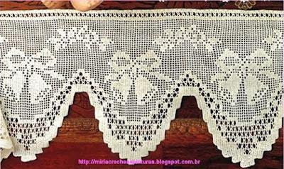 30 Barrados ou Bicos de Crochê Para Decoração de Natal Com Gráficos 32