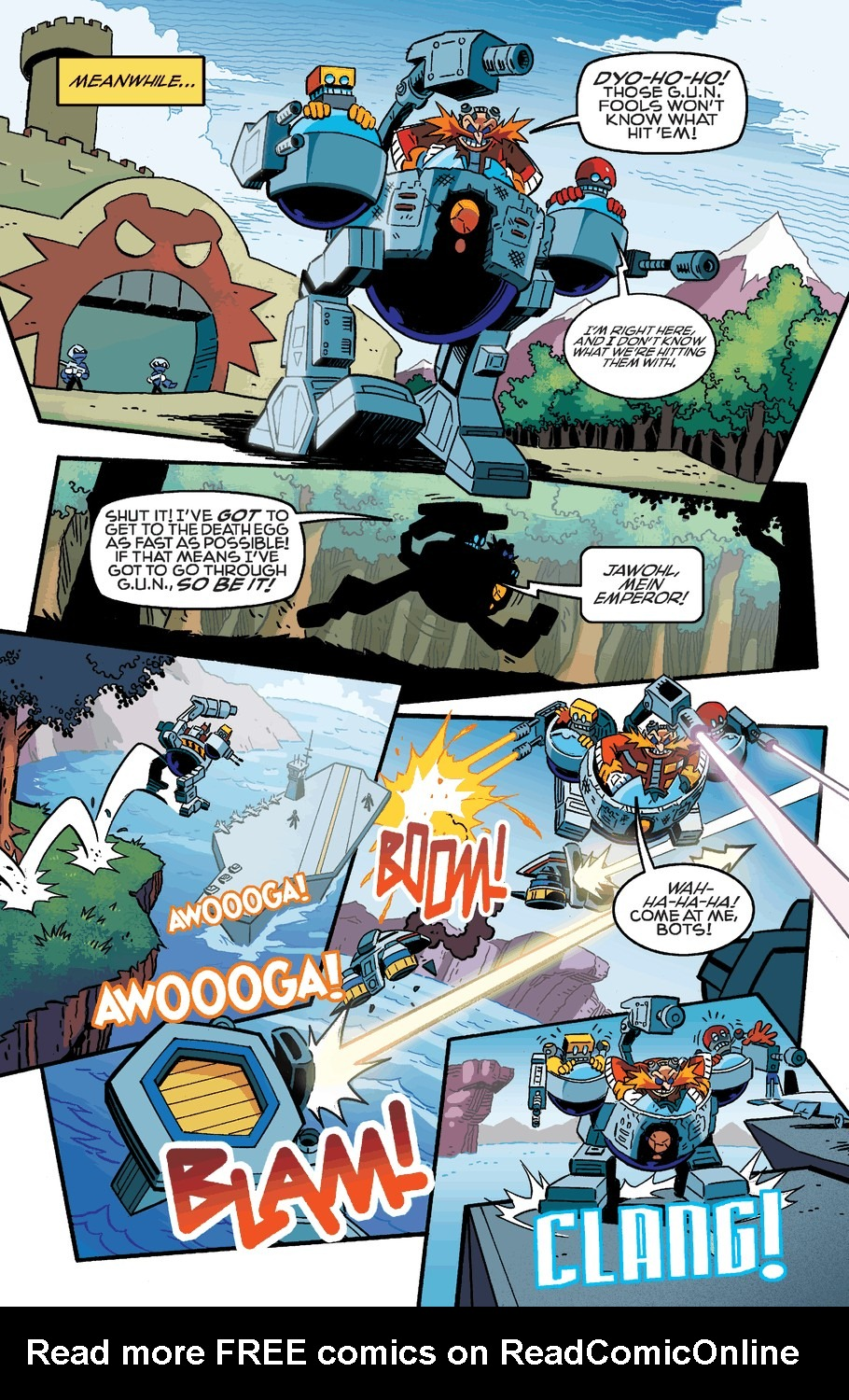 Read online Sonic The Hedgehog comic -  Issue #254 - 12