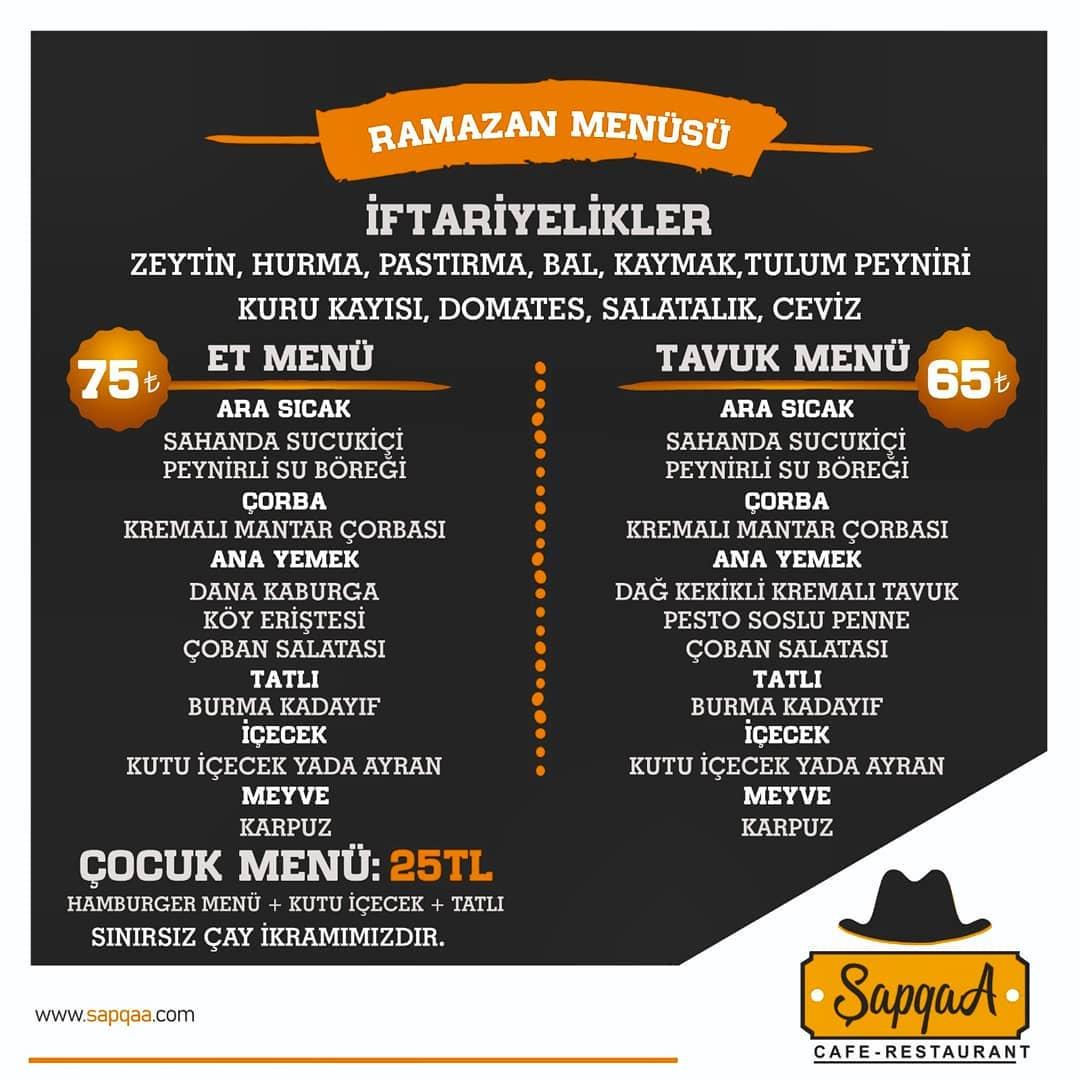 kayseri talas iftar menüleri kayseri talas yemek yenecek yerler kayseri talas ramazan menüleri