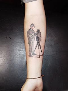 Tatuaje fotografía antigua