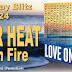 Summer Heat: Love on Fire by Caridad Piniero, Nina Bruhns, Rebecca York, Jennifer Lowery, Taylor Lee, Traci Hall, Stephanie Queen, Kathy Ivan, Jackie Ivie, Michele Hauf, Rachelle Ayala, Katy Walters, Melissa Keir, Dani Haviland, Jacquie Biggar, and Angelique Armae