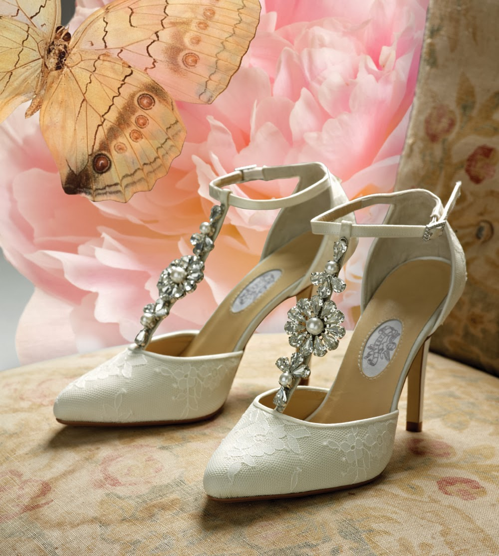 vintage wedding shoes for bride fabulosos zapatos de novia moda y tendencias 2014 8334