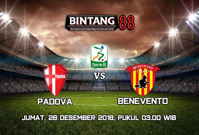 Prediksi Padova vs Benevento 28 Desember 2018