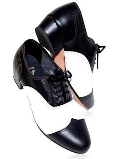 sapato masculino dança de salão bicolor sapatos de dança