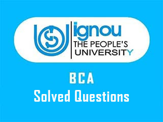 IGNOU BCA Previous Year Solved Question Paper Download