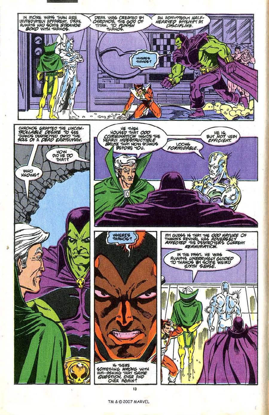 Read online Silver Surfer (1987) comic -  Issue #37 - 16