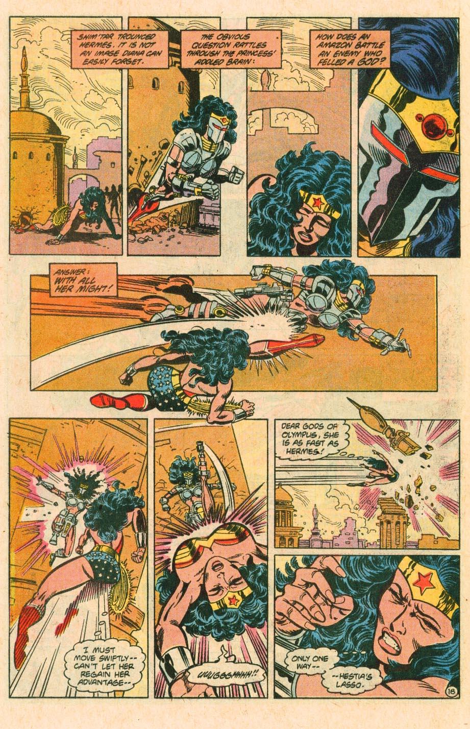 Read online Wonder Woman (1987) comic -  Issue #34 - 19