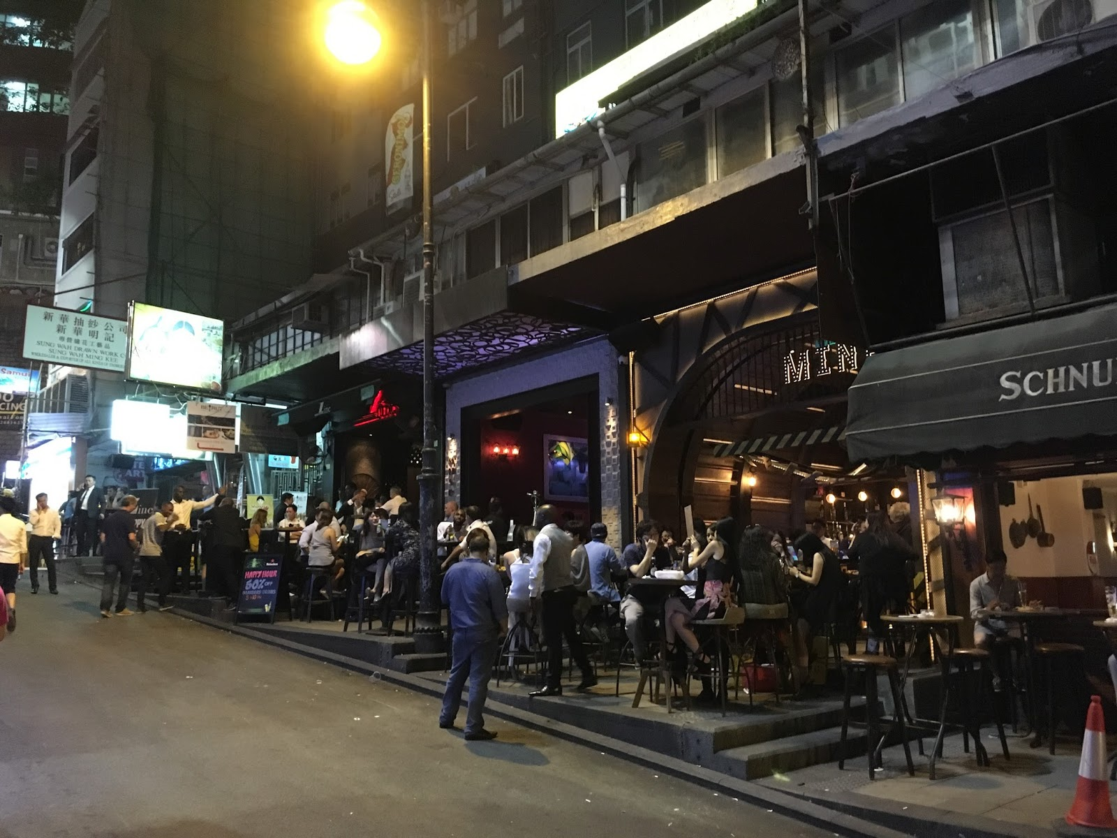 Lan Kwai Fong Hongkong