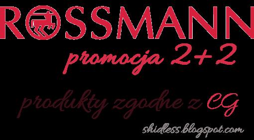 Co kupić w Rossmannie, polecane kosmetyki do włosów zgodne z CG