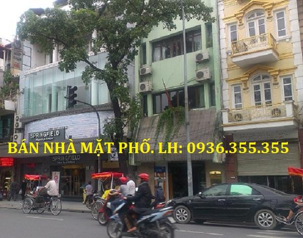 Bán Nhà Mặt Phố Nguyễn Hữu Huân