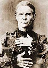 Ellen Thomson, hanged at Boggo Road Faol in 1887. (Queensland State Archives)