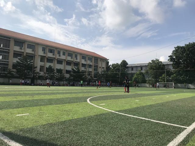 Sân bóng Bình Thắng - Dĩ An - Bình Dương