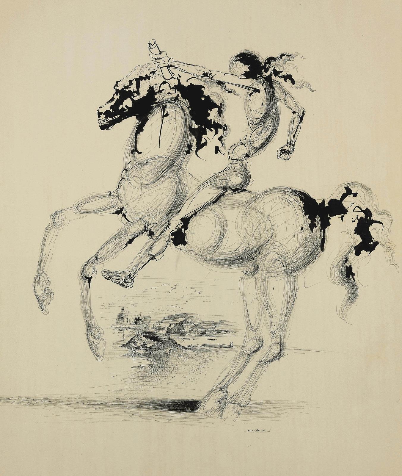Salvador Dali Drawing Tutt Art Pittura Scultura