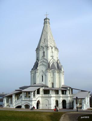 Церковь Вознесения Господня в Коломенском, Москва.