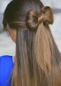 How To Make A Bow In Your Hair Follow This Making Hair