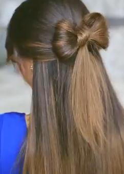 Peachy How To Make A Bow In Your Hair Follow This Making Hair Bows Short Hairstyles Gunalazisus