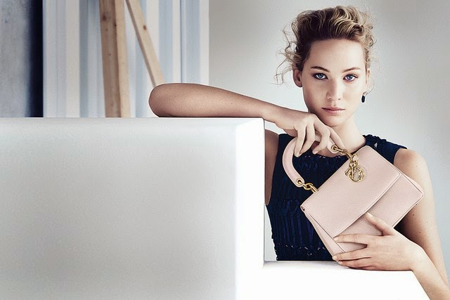 Jennifer Lawrence for  Be Dior  Spring 2015 Ad Campaigns  b754d39eee01f