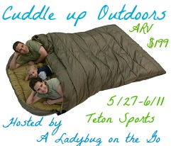 Teton Sports Mammoth Sleeping Bag Giveaway