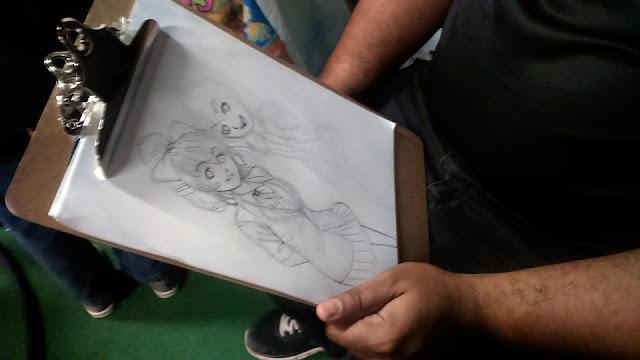 Dibujo en papel