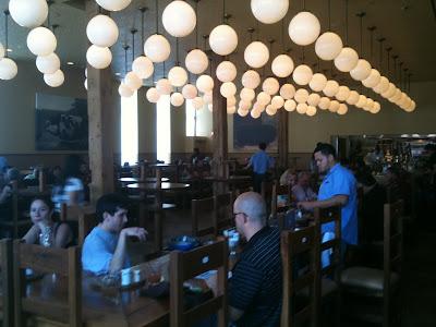 Interior of The Publican Restaurant