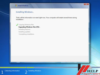 processing of Window 7